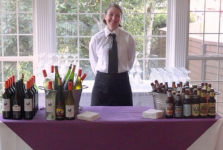Voila Catering's Microbeers and Wine Bar Tending