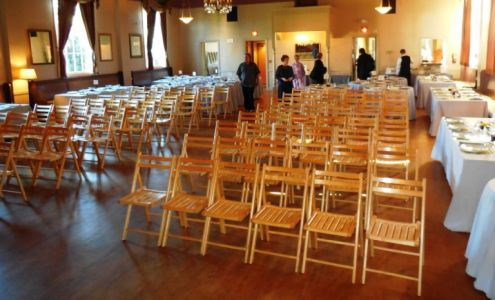 Ceremony chair setup at The Northstar Ballroom