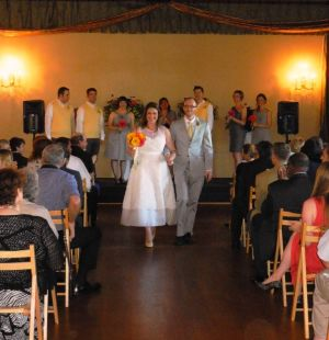 Wedding Ceremony at The Northstar Ballroom