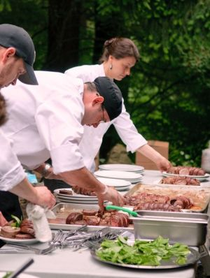 The Best Catering at Bridal Veil Lakes
