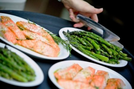 Spring Family Style Steelhead with Sautted Asparagus