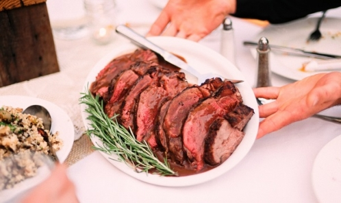 Cocoa and Black Pepper Crusted Beef Tenderloin