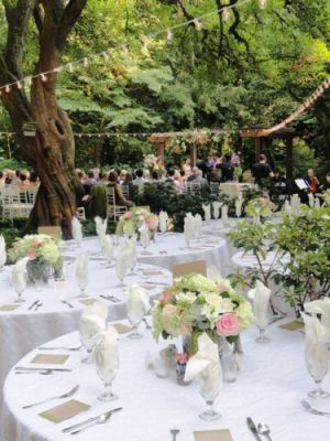 Leach Gardens wedding receptions