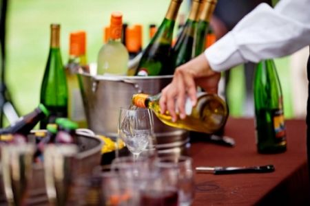 Affordable NW Wines bartending by Voila Catering