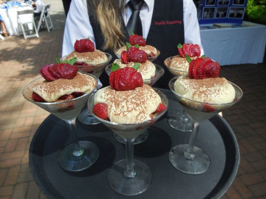 Desserts made on-site by the Chefs of Voila Catering