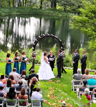 Bridal Veil Lakes Ceremony