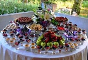 Dessert Buffet from the Chefs of Voila Catering