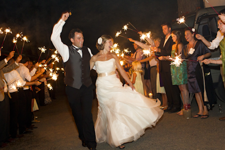 Bridal Veil Lakes Sparkler Send-off
