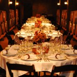 Elegant Winery Dinner in the Wine Cave