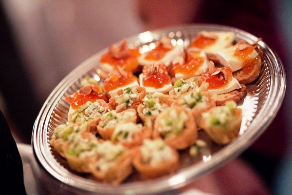 Gourmet catering at events by Voila Catering