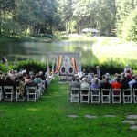 Wedding Ceremony at Bridal Veil Lakes