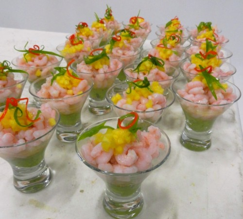 Catering Holiday Parties with Gourmet Hors d'oeuvres