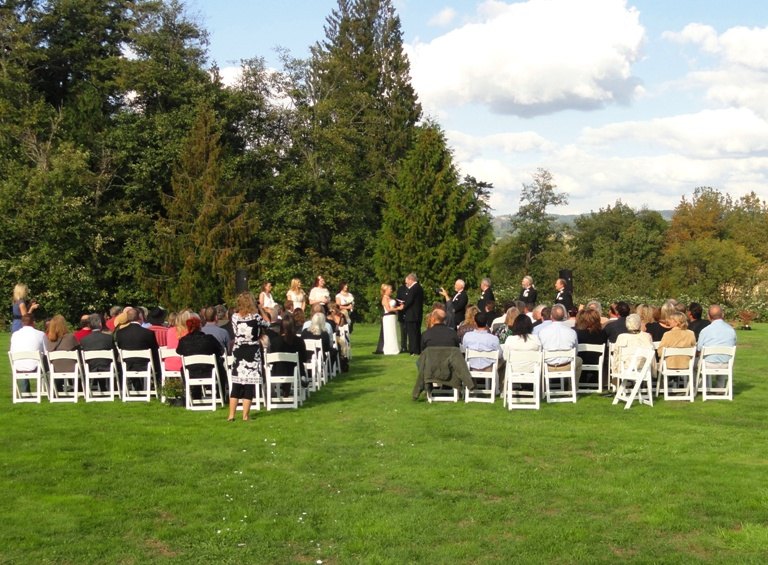 Private venue for wedding reception in portland