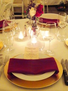 Birthday Dinner Party rentals by Voila Catering
