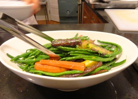 Green Beans and Carrots catering portland birthday party dinner