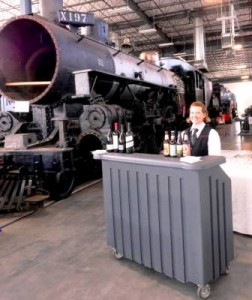 oregon Rail Heritage center bartenders and bartending