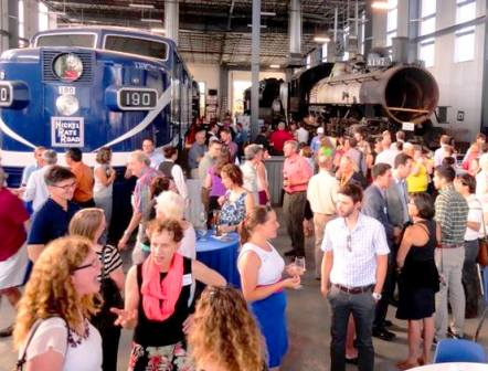Oregon Rail Heritage Center catering event