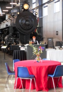Catering at Portland Oregon Rail Heritage Center