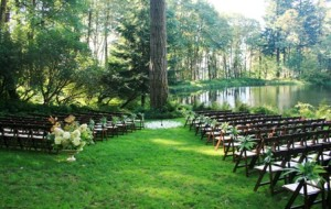 Bridal Veil Lakes Wedding Ceremony