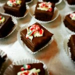 Brownie Bites at Holday Party