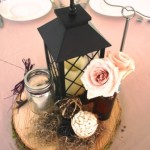 Dining Tables set by Voila Catering at Bridal Veil