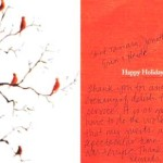 Holiday Party Thank You Note