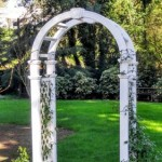 Mclean House Wedding Arbor